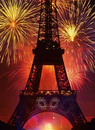 Bastille Day at Eiffel Tower photo credit Stuart Dee