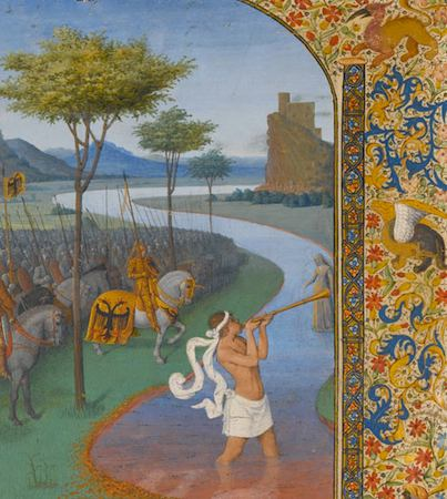 Louvre Medieval & Renaissance Illuminations courtesy RMN-Thierry LeMage
