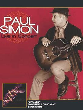 Paul Simon courtesy of le Palais des Congres de Paris