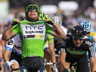 Cavendish wins last TDF 2011 stage in Paris. Photo: AP
