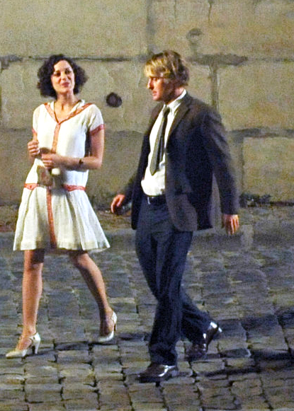 paris stars in midnight in paris