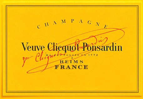 Veuve Clicquot label ©Veuve Clicquot