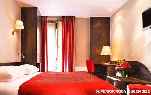 Paris reasonably priced hotels jardin cluny duquesne for Best western paris jardin de cluny