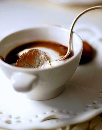 Pot de creme au chocolat. Photo: L'Atelier Vi.