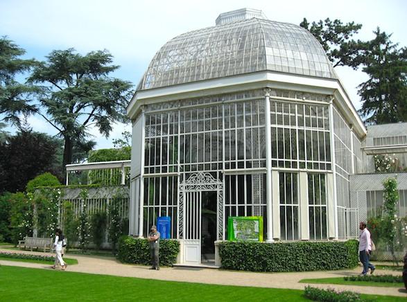 Conservatory at Albert Kahn Museum. Publicity photo.