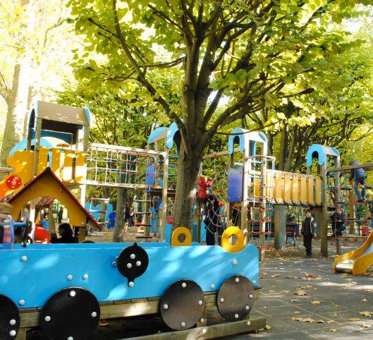 Luxembourg Gardens playground