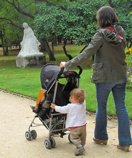 Mother [at Luxembourg Garden.] Photo: Ingrid.Deming