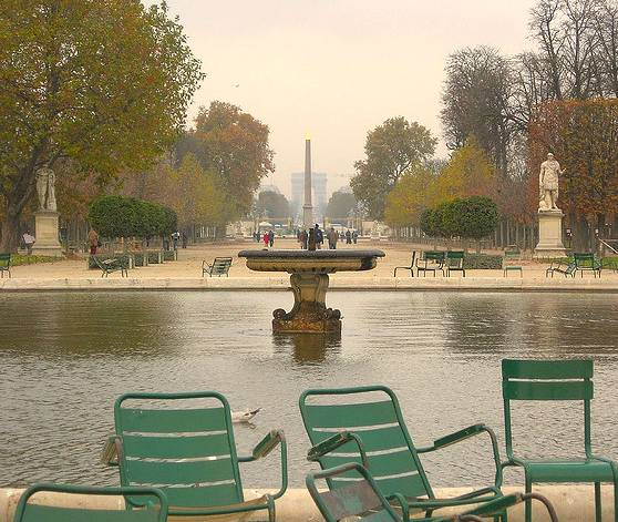 Tuileries. Photo: monceau