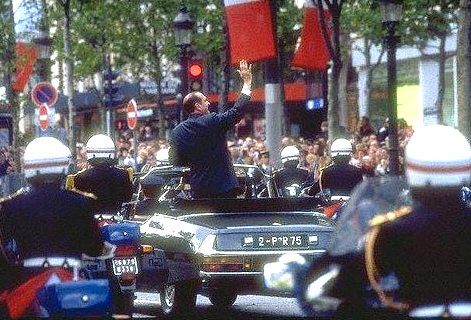 President Chirac in 2002