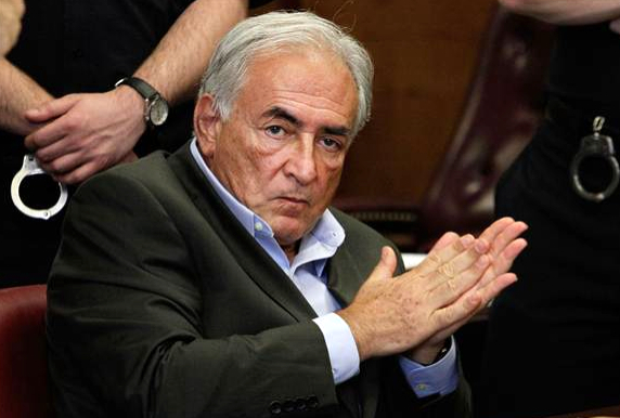 Dominique Strauss-Kahn in court 20May ©pool/Getty Images