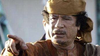 France24 photo of Moammar Ghaddafi.
