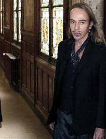 John Galliano arrives at court ©AP