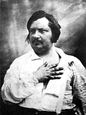 Honore de Balzac     public domaine photo, source: Wikimedia