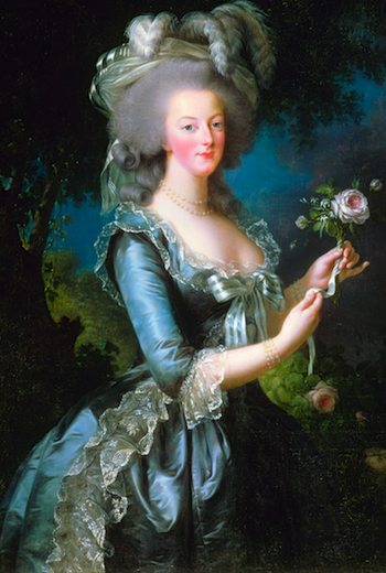 Marie and the Rose, a painting by Vigée-LeBrun