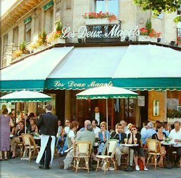 Cafe les Deux Magots  courtesy of les Deux Magots