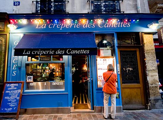 La crêperie des Canettes, Paris 6th.