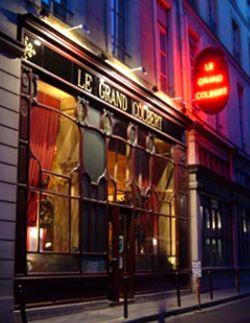 Le Grand Colbert restaurant and tea salon. Publicity photo.