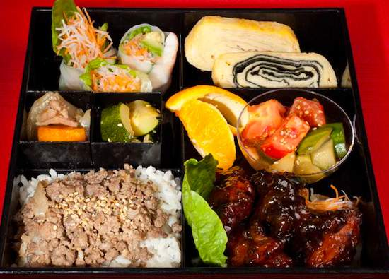 Little B O Bento box. Publicity photo.