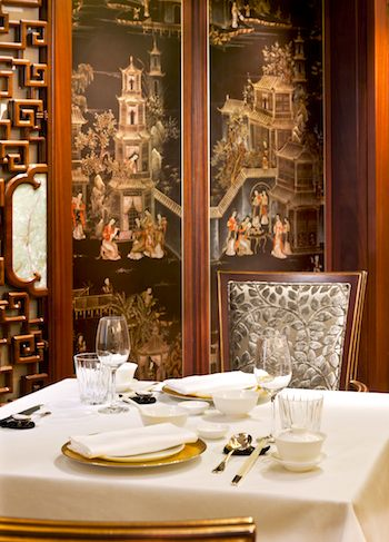 Shang Palace at Shangri-La Hotel, Paris. Photo courtesy of Shangri-La Hotel.