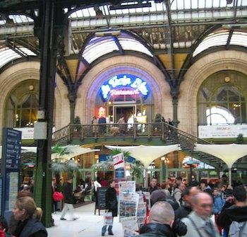Le Train Bleu in Gare de Lyon. Photo: Wikicommons