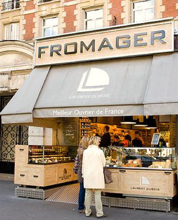 Laurent Dubois is a top quality Paris fromagerie. Photo: Laurent Dubois