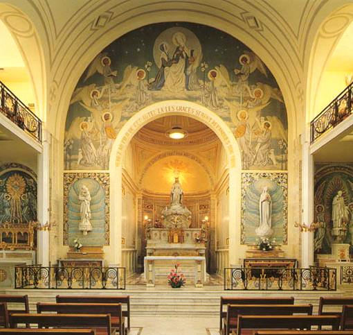 Chapelle de la Médaille  courtesy of Chapel's website