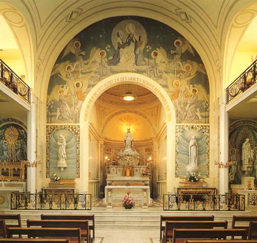 Chapelle de la Médaille  courtesy of Chapel's website