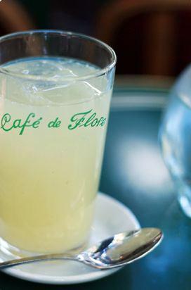 Citron Presse frais at Café de Flore. Photo ©: ::fanny::