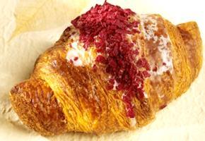 Almond-raspberry croissant by Pierre Hermé. Photo: Pierre Hermé