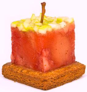L'écureuil apple shortbread. Publicity photo.