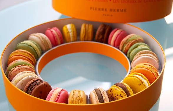 Pierre Hermé macarons assortment. Photo by Purple Cloud.