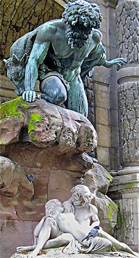 Medici Fountain detail ©HarshLight