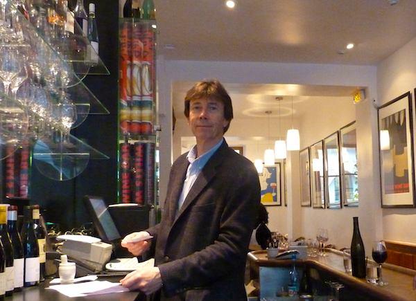 Mark Williamson of Willi's Wine Bar. Photo: MZ Johnston
