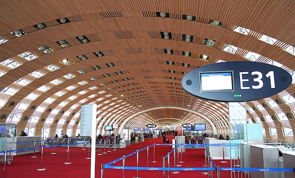 CDG awaits winter travelers. Photo by Serge Gordei