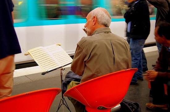 Metro musician.