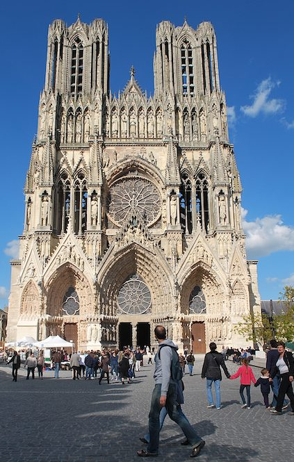 Reims Cathedral Photo credit: ©Sonya Stark