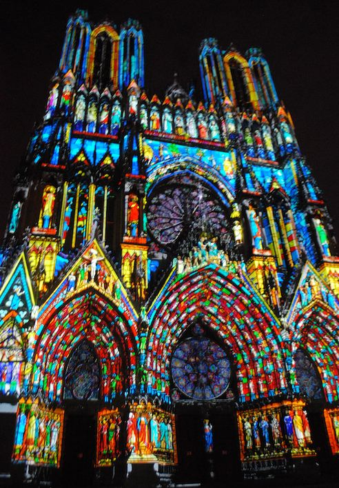 Reims Cathedral Reve de Couleurs   Photo credit: ©Sonya Stark