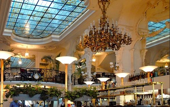Magnificent Art Nouveau Grand Café in Moulins