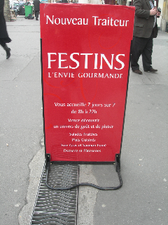 Festins traiteur, Paris