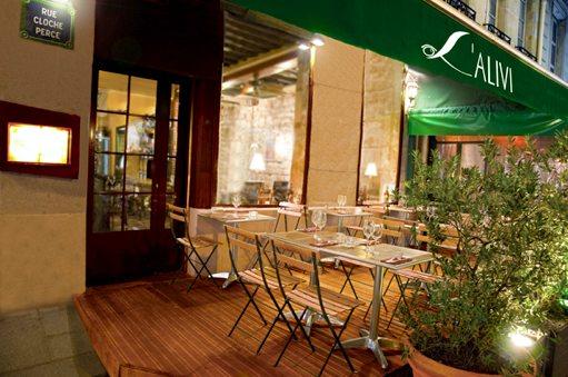 Restaurant Course L'Alivi, Paris 4th
