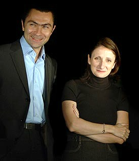 David Sinapian and Anne-Sophie Pic publicity photo