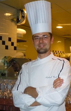 CHEF DE CUISINE, MICKAEL FEVAL, AT ANTOINE PARIS. Photo: M Kemp