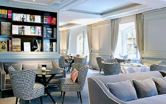 """""""Coffee Time"""" at L'Hôtel de Vendôme. Publicity photo."""