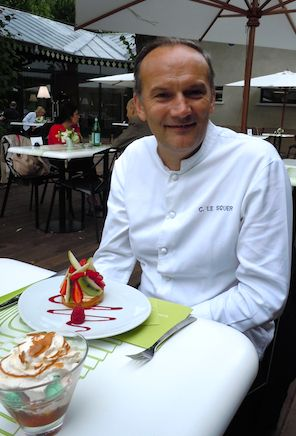 Chef Christian Le Squer of La Grande Verriere  Photo: M. Kemp
