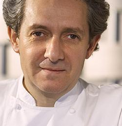Chef Jean-Louis Nomicos. Publicity photo.