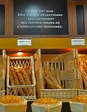 Kayser bread counter.