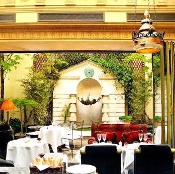 L'Hotel Terrasse. Photo: Amy Murrell