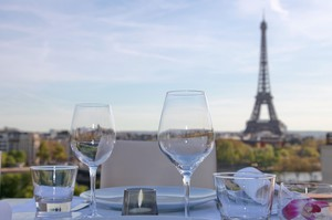 Terrace, Montaigne at La Maison Blanche