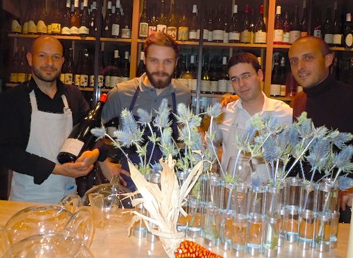 Sven Chartier and team at Saturne. Photo: M. Kemp