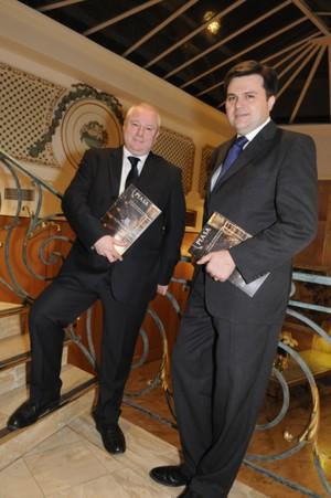 David Ridgway and Aymeric de Clouet. Photocredit: PIASA